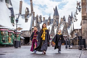 Family at Harry Potter World