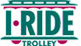 I Ride Trolley Logo