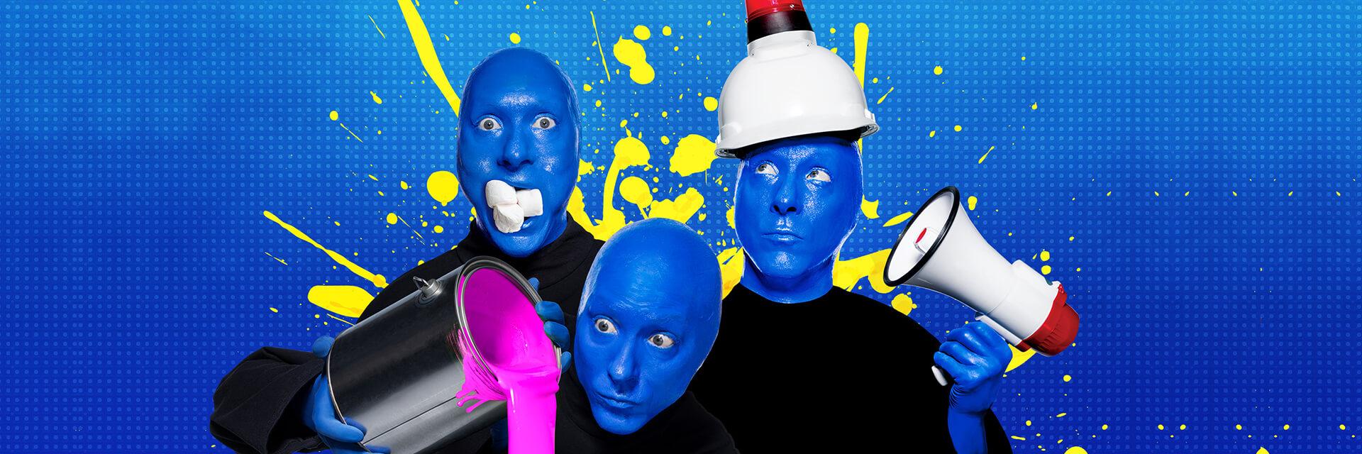 Returned home, Blueman group tour can make
