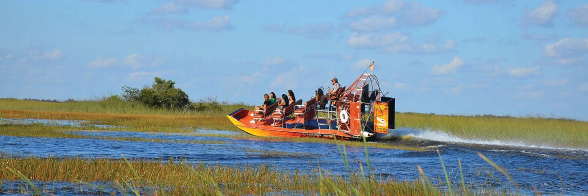 Everglades Airboat Ride - Biscayne from Miami