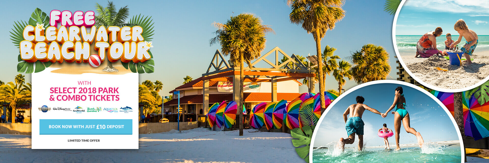 Free Clearwater Tour with Select Park and Combo Tickets