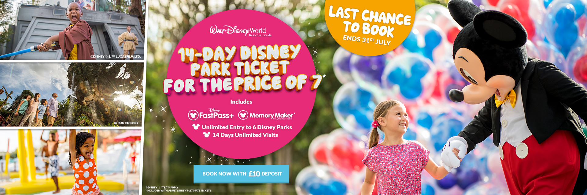 Walt Disney World 14 Days for the price of 7 is back