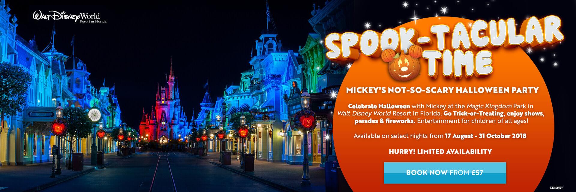 Mickey's Not So Scary