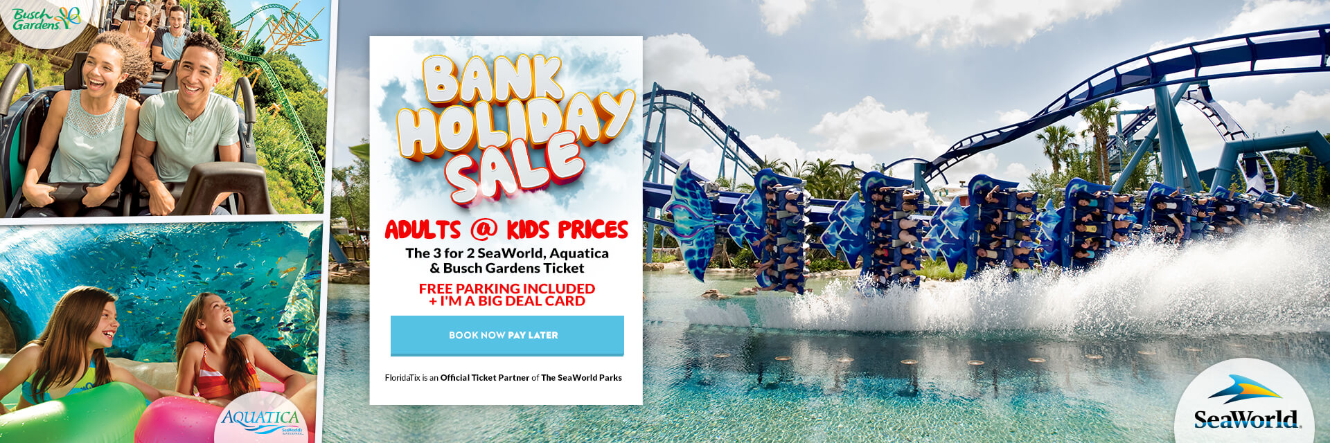 Sea World May sale