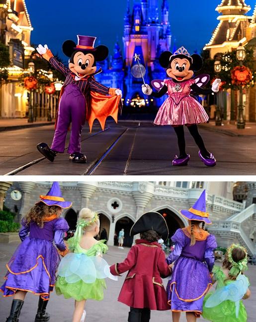 Meet Mickey on Halloween
