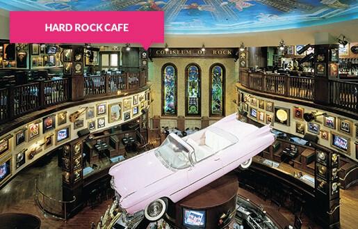 Hard Rock Café Orlando interior