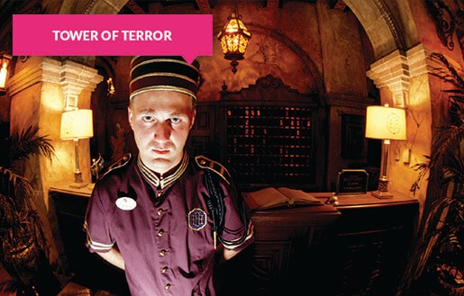 Tower of Terror lift operator