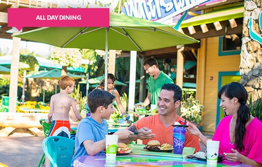 Family Dining in Aquatica