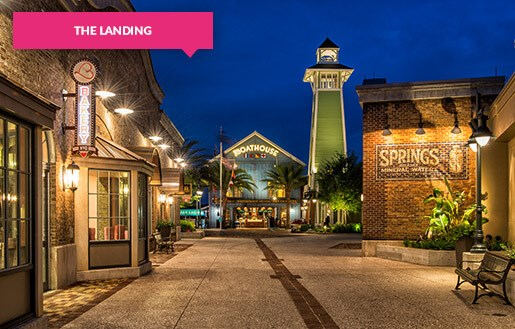 The Landing Disney Springs