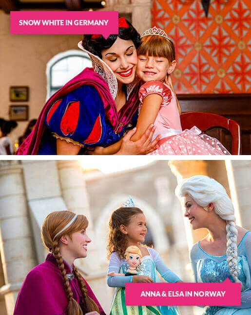Meeting Disney Princesses in Epcot