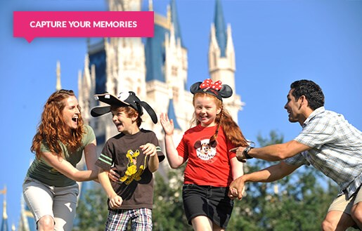 Family at Magic Kingdom