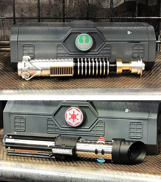 Legacy lightsabers
