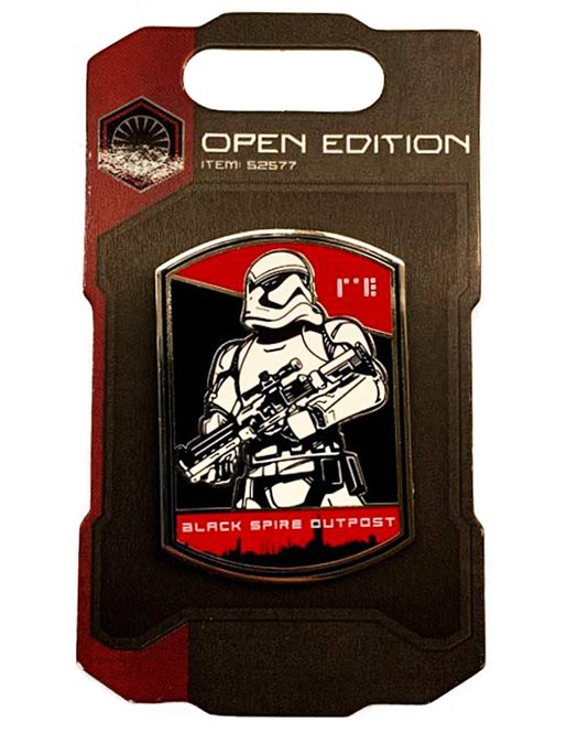 First Order Pin Badges