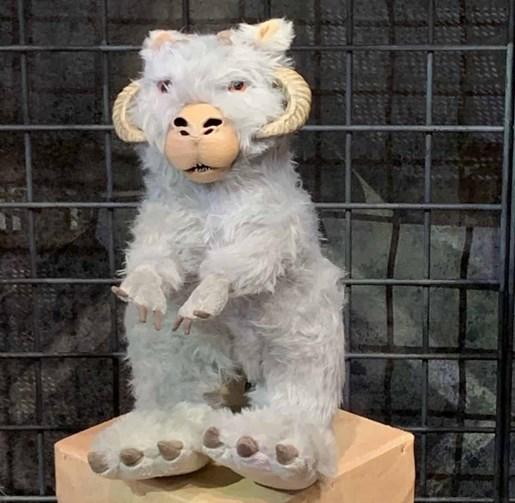 Tauntaun stuffed toy