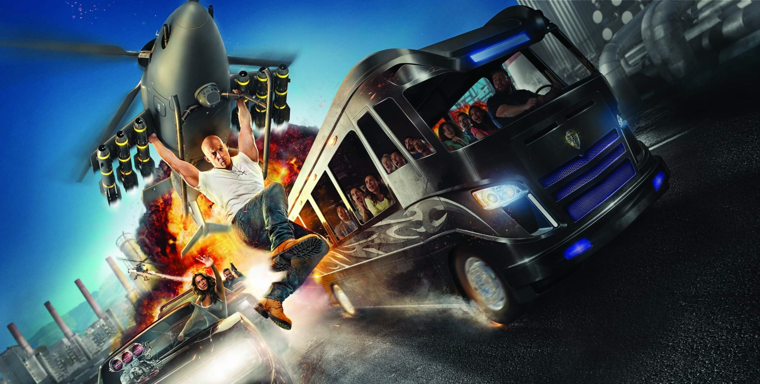 FAST AND FURIOUS AT UNIVERSAL ORLANDO