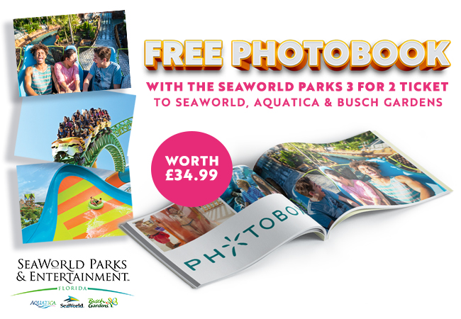 SeaWorld Free Photobook Offer